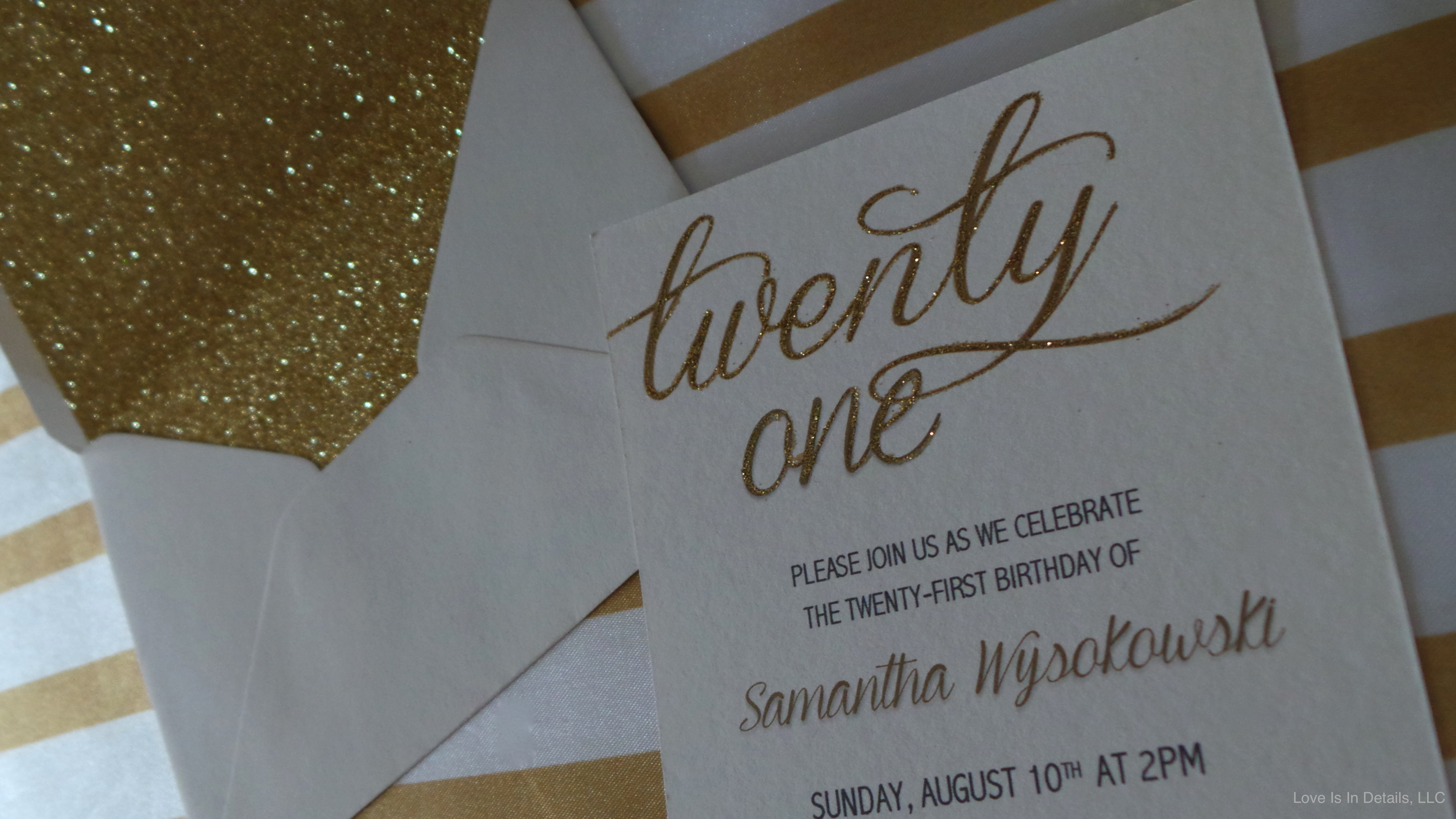 21st Birthday Party | Love Is In Details Blog